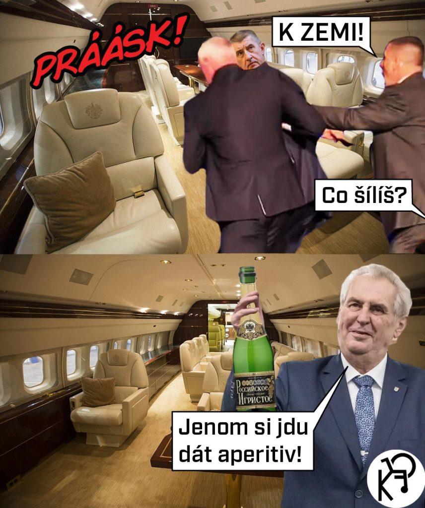Střelba v letadle