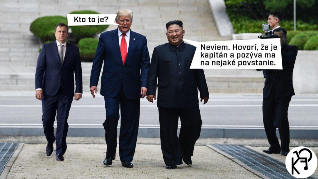 Trump, Kim a Danko