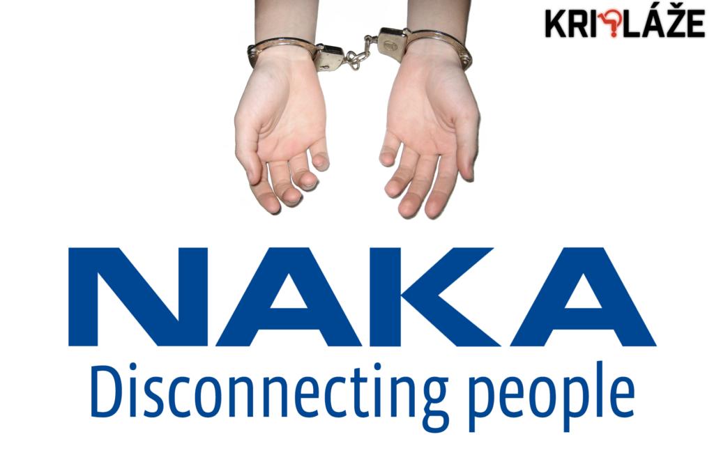 NAKA disconnecting people