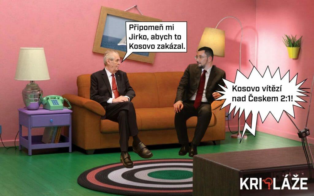 Zeman a Kosovo