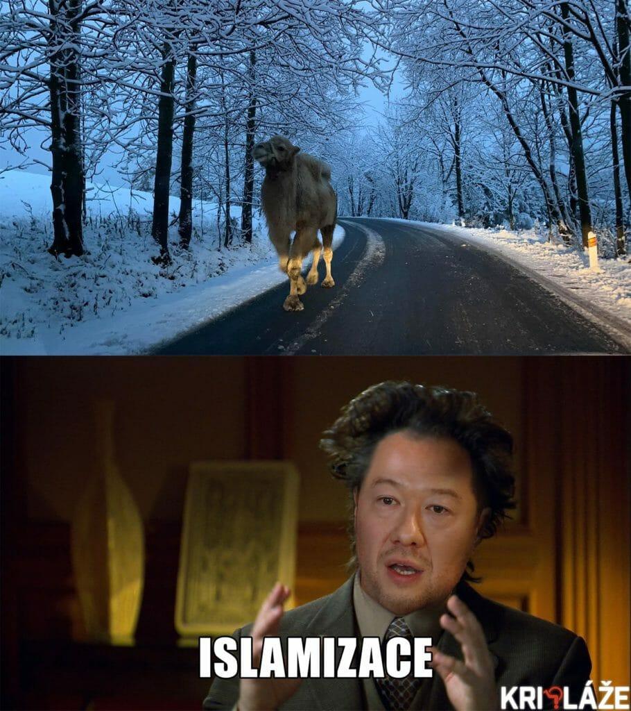 Islamizace Tomio Okamura