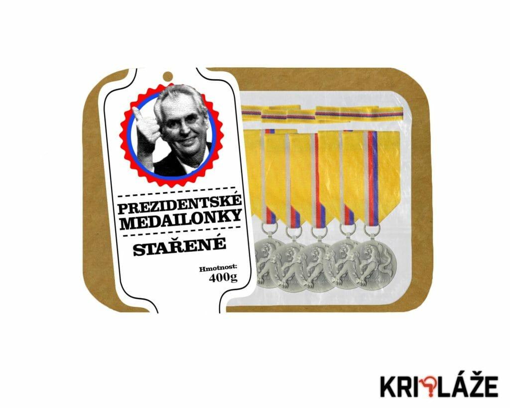Prezidentské medailonky