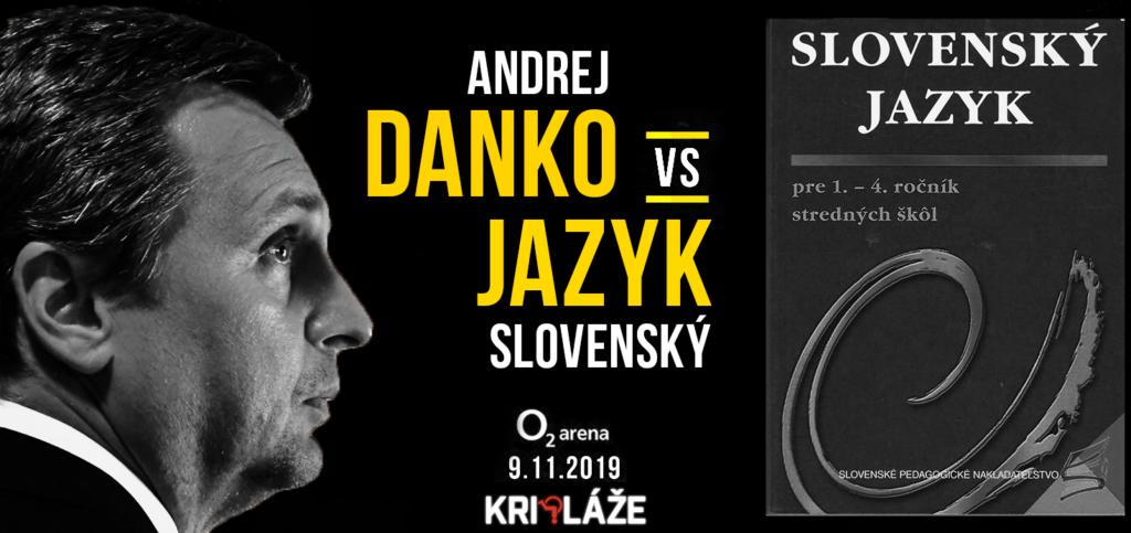 Andrej Danko vs slovenský jazyk