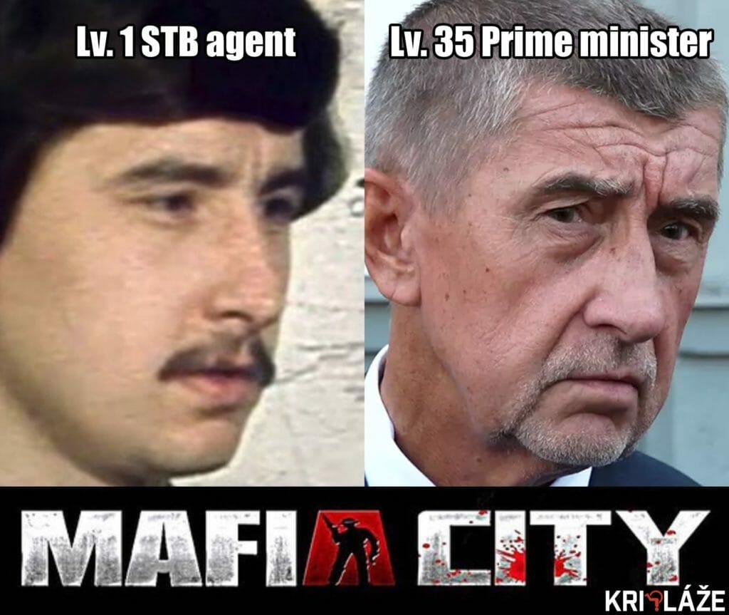 Mafia city Babiš