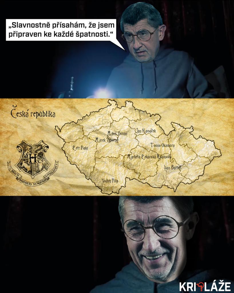 Andrej Babiš a Pobertův plánek