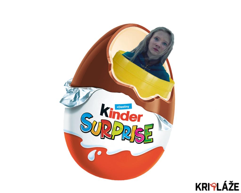 Ciri Kinder Surprise