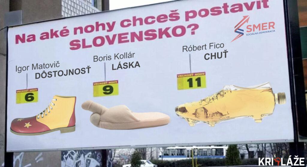 Na aké nohy chceš postaviť Slovensko?