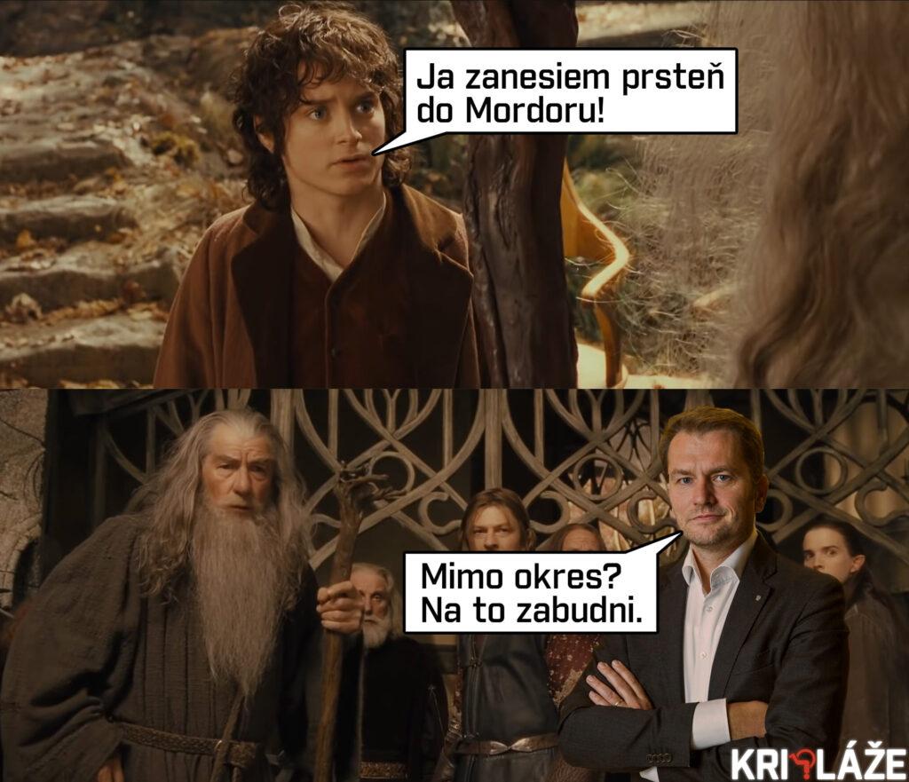 Ja zanesiem prsteň do Mordoru!
