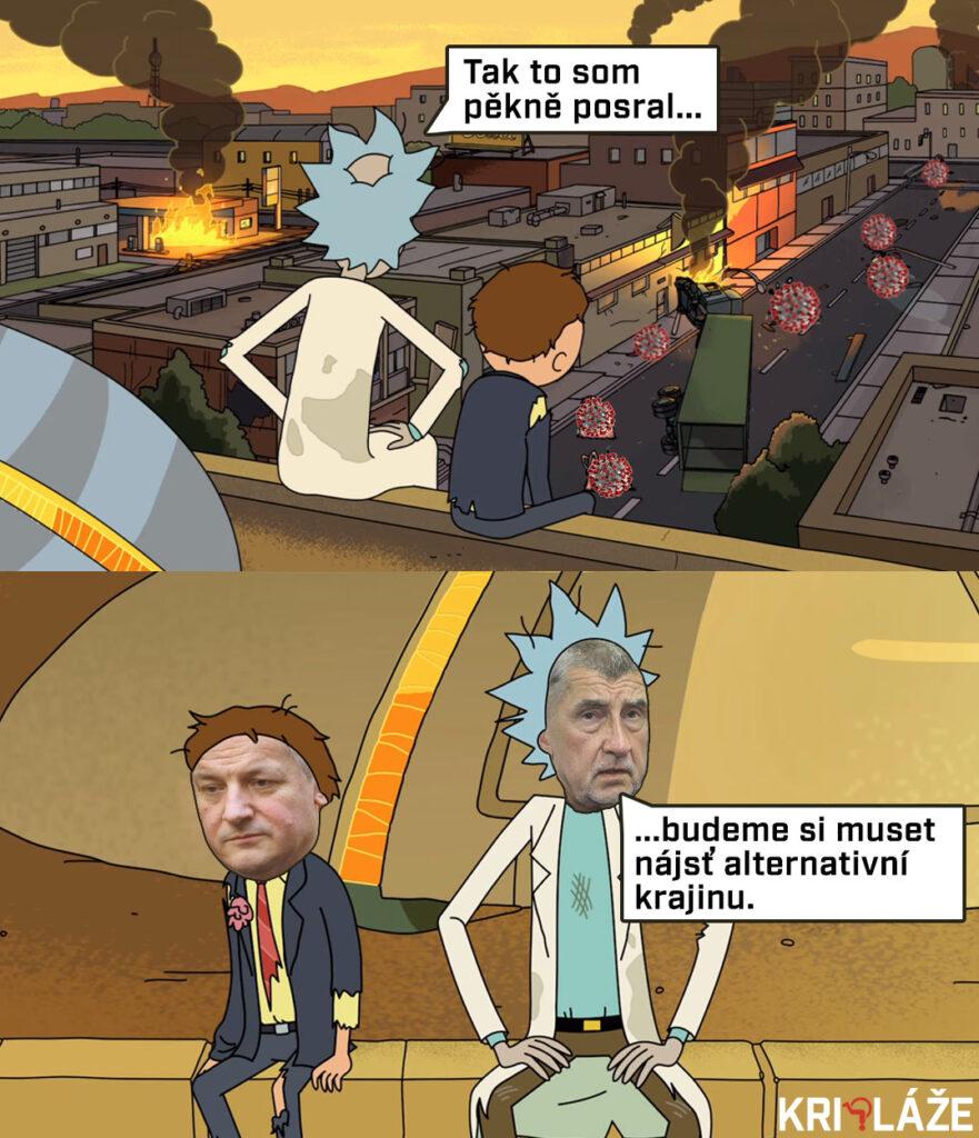 Rick and Morty Babiš
