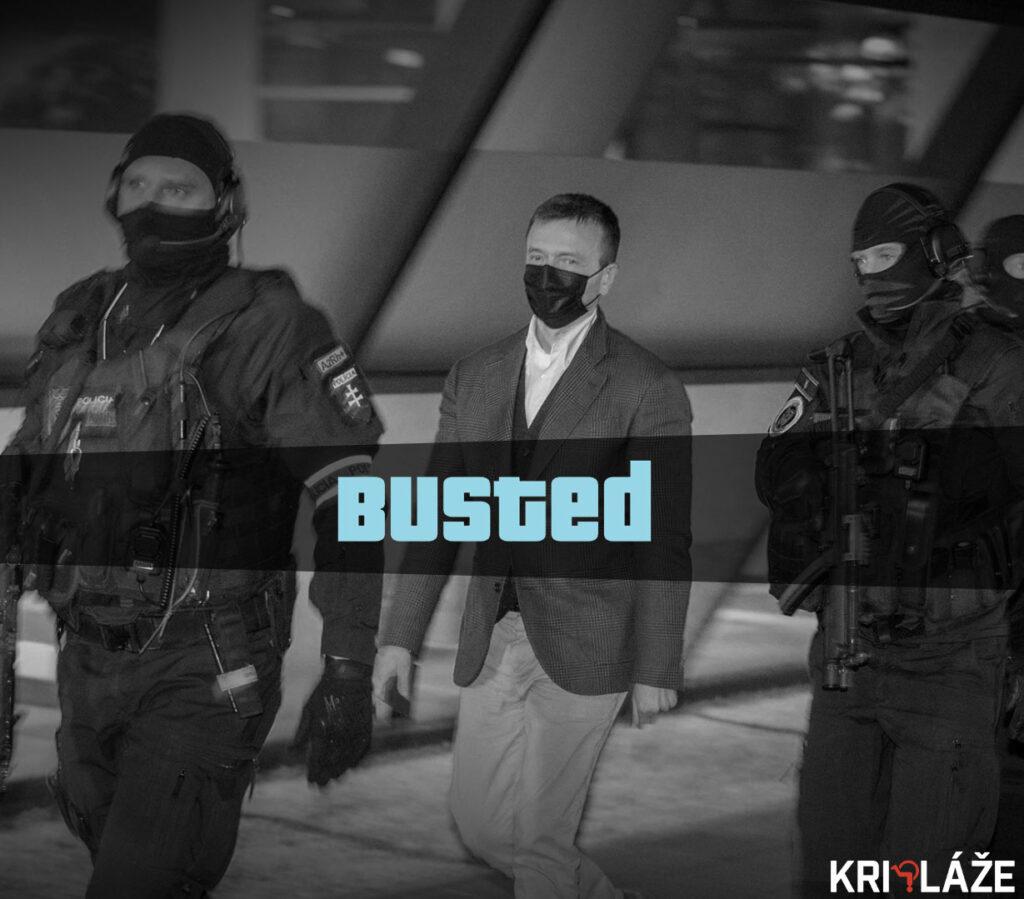 GTA hascak busted