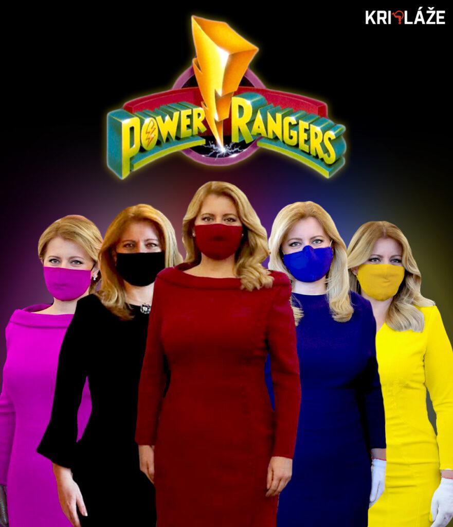 caputova power rangers