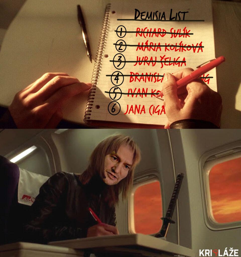 kill bill matovic demisia list