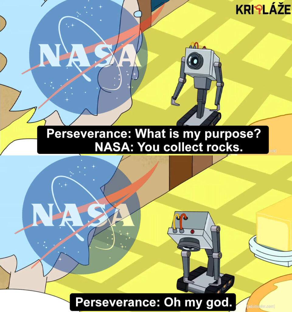 rick and morty perseverance