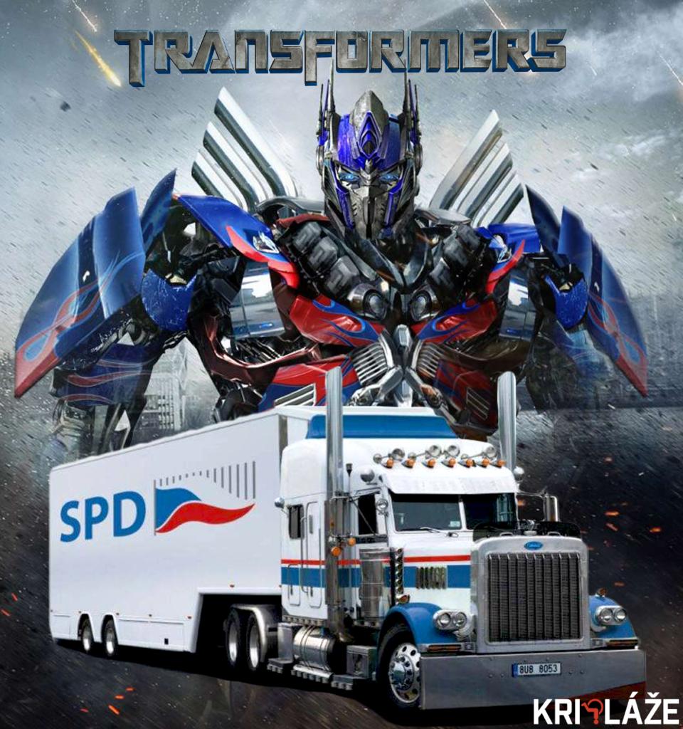 transformers spd kamion